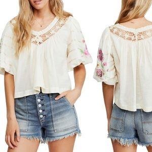 Free people bomehia blouse